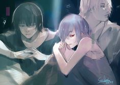 I'm really worried. Is Touka going to be okay? T^T Tokyo Ghou :re