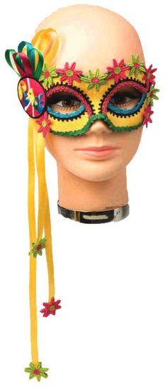 Mardi Gras Masks! 60's Woodstock Hippie Mardi Gras Carnival Eye Mask #FM #Mask #MardiGrasCarnival