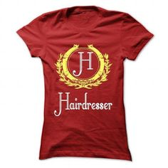 Hairdresser T Shirts, Hoodies Sweatshirts. Check price ==► http://store.customtshirts.xyz/go.php?u=https://www.sunfrog.com/LifeStyle/Hairdresser-Red-43138852-Ladies.html?41382