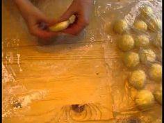 Дрожжевой пирог с шоколадно-ореховой пастой нутелла