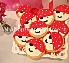 Pirate Birthday Party Cookie / Party Favors / Pirate Cookies / Decorated Cookies