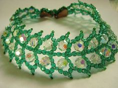 Vintage High End Coppola e Toppo Beaded Leaf Necklace - Book Piece