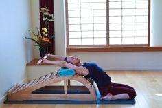 Supta Virasana Yoga Props, Iyengar Yoga, My Yoga, Pine Tree, Bench, Health, Pine, Health Care, Desk