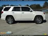 2011 Toyota 4runner Limited Pearl White