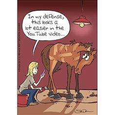 We hope you enjoy EquiMed's October cartoon created by Jody Werner.