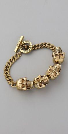 Monserat De Lucca -  Skull Bracelet