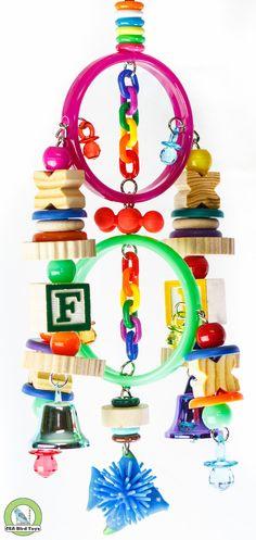 Double Marbella Rings by CrackedEggBirdToys on Etsy, $12.50