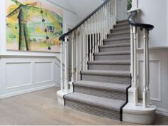 Staircase runner ideas painted stair runner ideas full size of stair runner ideas modern staircase carpet . Stairway Carpet, Hall Carpet, Carpet Stairs, House Stairs, Painted Staircases, Painted Stairs, Best Carpet, Diy Carpet, Carpet Ideas