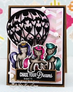 A World of Creative Possibilities: Kraftin' Kimmie Stamps : New release, day 4+ a challenge with Unicorns!