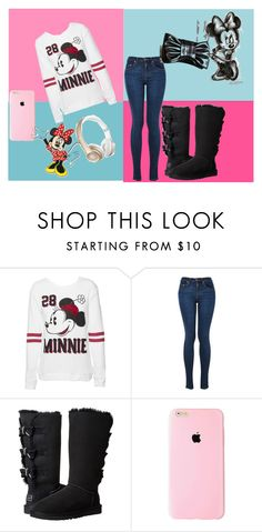 """""""Minni Mouse 28"""" by cudagirl831 ❤ liked on Polyvore featuring mode, Disney, UGG Australia, Beats by Dr. Dre, women's clothing, women's fashion, women, female, woman et misses"""