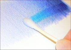 rubbing alcohol to blend colored pencils by maryellen