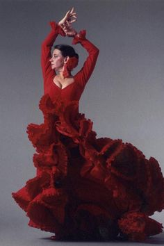 Dear Pennies & Pens, The New York Public Library for the Performing Arts at Lincoln Center and Flamenco Vivo Carlota Santana have partnered to present 100 Years of Flamenco in NYC, a multimedia… Ballroom Dance, Ballet Dance, Our Lady, Lady In Red, Turns Dance, Sara Martins, Ballet Painting, Spain Culture, Spanish Dancer