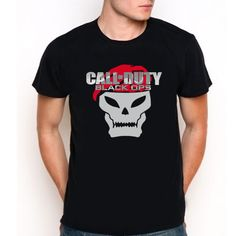 call of duty black oops  Custom Tee T-Shirt