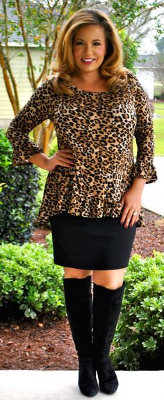 Perfectly Priscilla Boutique - Wild At Heart Top, $37.00 (http://www.perfectlypriscilla.com/wild-at-heart-top/)