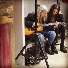 Patti Smith and PJ Harvey