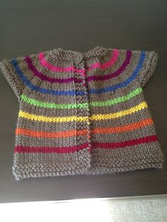 One Baby Sweater By Erika Flory - Purchased Knitting Pattern - (ravelry)