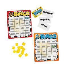 Differentiated Sight Word Level 500 Bingo Game - OrientalTrading.com