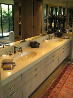 Majestic Bathroom by Flying Turtle Cast Concrete