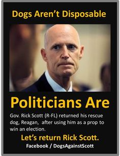 Let's return Rick Scott!