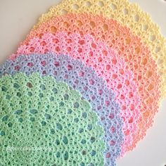 1 million+ Stunning Free Images to Use Anywhere Crochet Kitchen, Crochet Home, Love Crochet, Crochet Placemats, Crochet Stitches Patterns, Knitting Patterns, Filet Crochet, Crochet Motif, Crochet Dollies