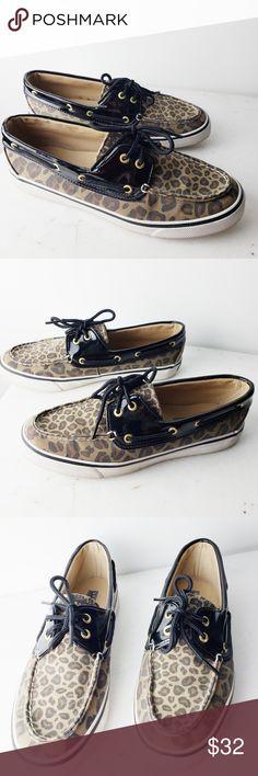084edea1fd6c Sperry Top Sider Leopard Print Boat Shoes Sperry Top Sider boat shoe  leopard print. Normal