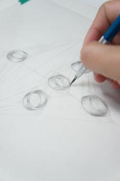 Diamond Illustration, Jewelry Illustration, Gems Jewelry, Jewelry Art, Jewelery, Ring Sketch, Jewelry Design Drawing, Jewellery Sketches, Jewelry Photography