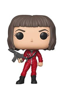 Figurine - Funko Pop - La Casa de Papel - Tokyo with Mask Lego Friends, Statue, Stranger Things, Coloring, Sticker, My Favorite Things, Tv, Cartoon Background, Pop Figures