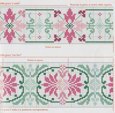 Elza Cross Stitch Fruit, Cross Stitch Borders, Cross Stitch Flowers, Cross Stitch Designs, Cross Stitching, Cross Stitch Embroidery, Cross Stitch Patterns, Cross Stitch Geometric, Modern Cross Stitch