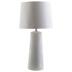Surya Wesley White Table Lamp #laylagrayce