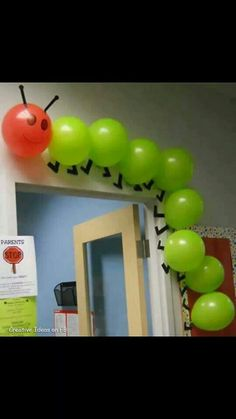 The Hungry Caterpillar party--excellent!