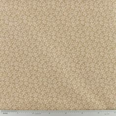 Brown Tonal Floral Cotton Calico Fabric