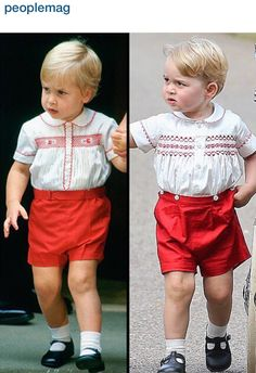 Like father, like son! Prince William and Prince George