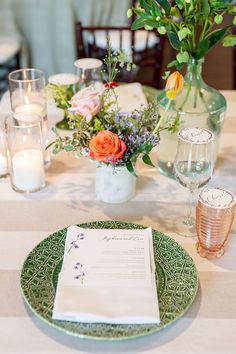 There are wildflowers galore in this Texas garden wedding where late summer blooms took over everything from the mismatched bridesmaid dresses to the creative cake display to the floral-illustrated invitation suite. And that is not even all! We are so delighted to be sharing this colorful summer wedding story on the blog now. Forest Wedding Reception, Tent Reception, Wedding Reception Centerpieces, Rooftop Wedding, Luxe Wedding, Ballroom Wedding, Wedding Tables, Wedding Vendors, Garden Wedding