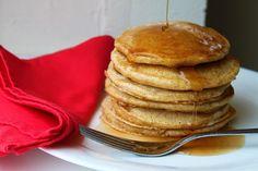 Whole wheat sour cream pancakes
