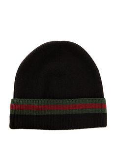 """8e5b006b688 Gucci """"Wool and Silk Beanie Hat"""" Spring 2011"""