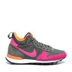 Mooie Nike Hoge sneakers (Groen) Hoge sneakers van het merk Nike voor Dames. Uitgevoerd in Groen in Su��de.