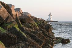 Saybrook Breakwater Lighthouse - See more of the best places to photograph in CT at http://loadedlandscapes.com/ct-photography-locations/  // Photo by WIlson Bilkovich - https://www.flickr.com/photos/wilsonb/8100995080/