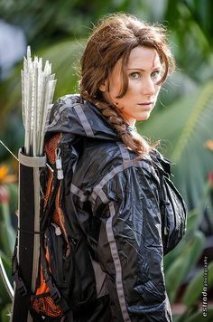Katniss Everdeen (Hunger Games) #cosplay | Anime Los Angeles 2013