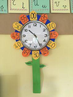 Orologio Fiore in classe 2A