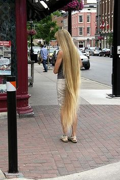Lady With Long Hair #3: