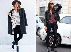 how to wear, chelsea boots, outfits, black skinny, chelsea boots combineren, zwarte broek