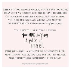 Thank you for sharing this by way of . The perfect words to hold tight during this season! Small Business Quotes, Small Quotes, Small Business Saturday, Support Small Business, Me Quotes, Business Ideas, Bible Quotes, Deeps, Shopping Quotes