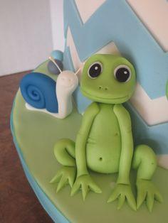 ~Tutorial for Cute Fondant Frog~