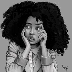 Black Women Art! – Morena by Kevinci Baquero Celis                                                                                                                                                                                 More