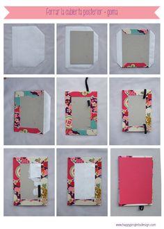happyprojectsdesign: Cuaderno personalizado (1ª PARTE)