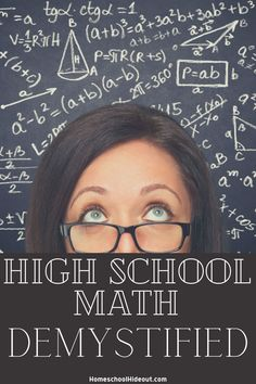 High school math is much easier when you allow it to be! I love these ideas. Educational Board Games, Educational Websites, Educational Activities, Educational Technology, Homeschool High School, Homeschool Curriculum, Homeschooling, Old Teacher, School Teacher