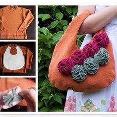 Reciclar una camiseta en un bolso