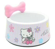 Hello Kitty dog bowl