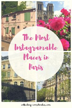 The Most Instagramable Places in Paris! How to see 11 pretty places in Paris! This city is one of the most beautiful places in the world! Every time I visit I fall more and more in love with its romantic streets and French architecture. Paris offers some of the best scenery to take pictures that this world has to offer! So here is my travel guide for the most picture-worthy spots in Paris