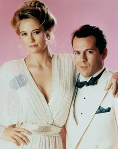 """""""Moonlighting"""" with Cybill Shepherd and newcomer Bruce Willis"""